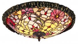 Φωτιστικό οροφής με πολύχρωμο γυαλί Mirella 8087